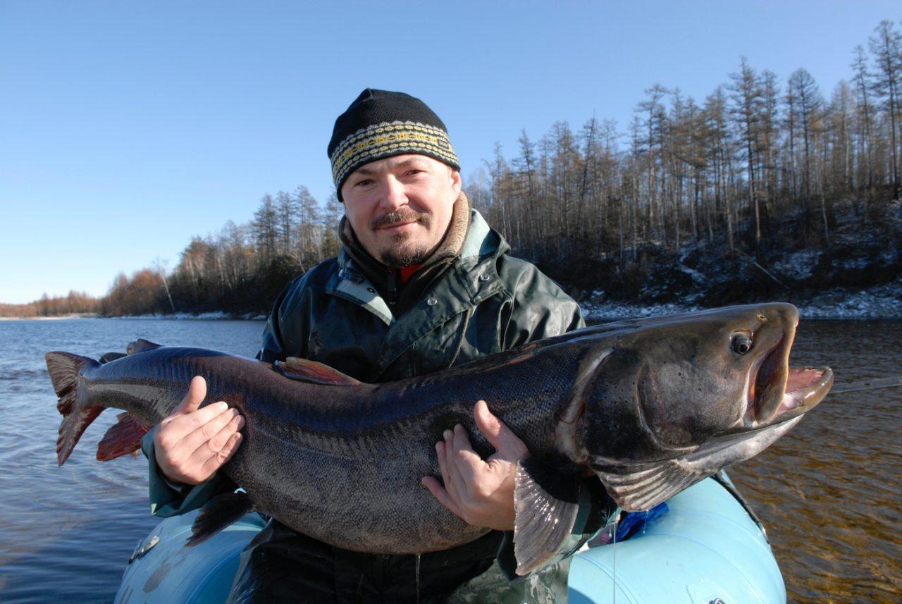 рыбалка в тайге на озере